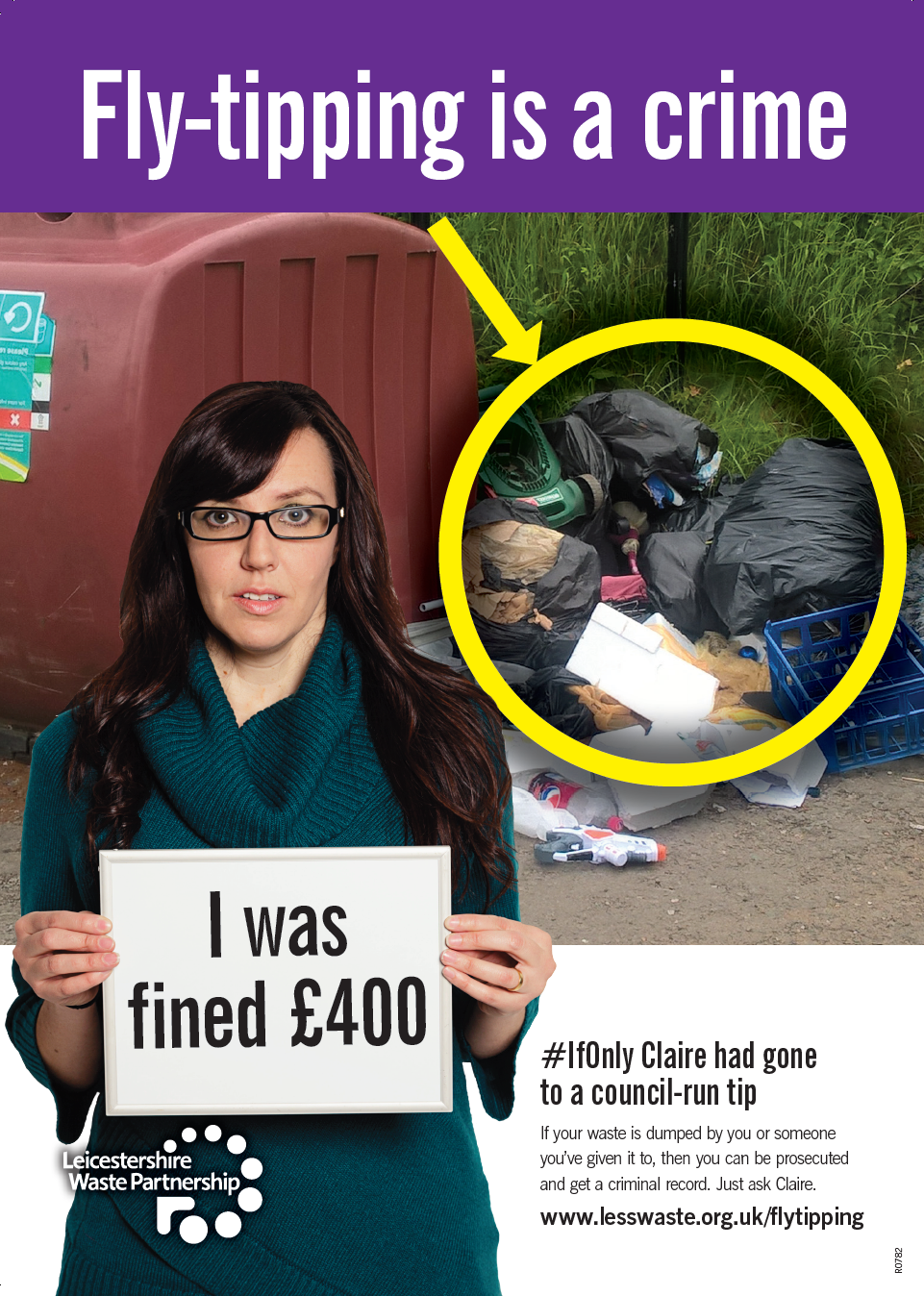 #IfOnly Claire had gone to a council run tip.