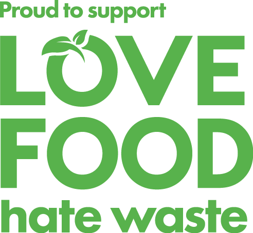 Proud to support Love Food Hate Waste
